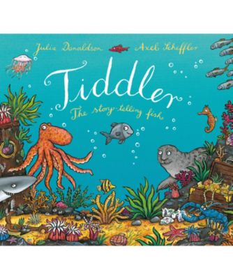 Julia Donaldson Tiddler The Story-Telling Fish Book