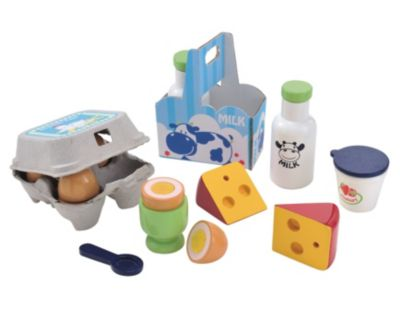 Wooden Dairy Set