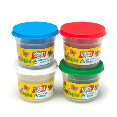 4 x 150g Soft Stuff Doh Tubs - Standard Colours