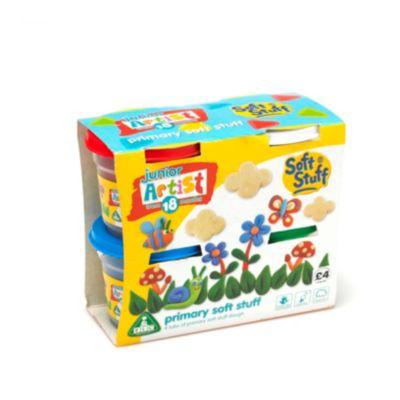 4 x 150g Soft Stuff Doh Tubs - Standard Colours