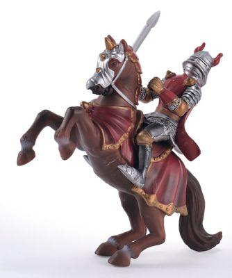 Red Knight on Horseback
