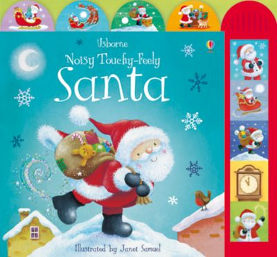 Noisy Touchy-Feely Santa Book