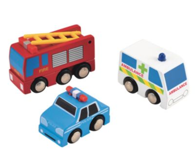 Big City Emergency Vehicle Set