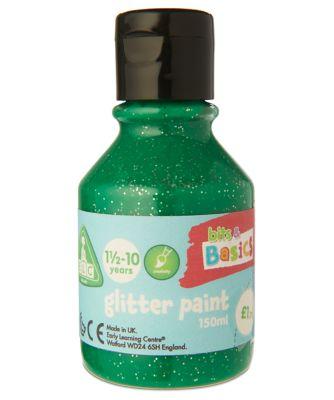 Green Glitter Paint - 150ml