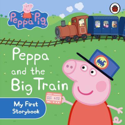 Peppa Pig and the Big Train Board Book