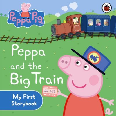 Peppa Pig and the Big Train Board Book