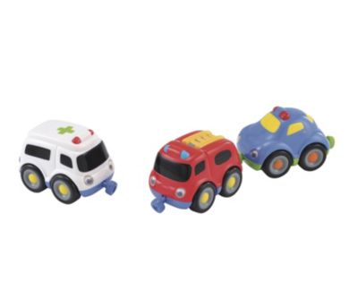 Emergency Vehicle Magnetic Trio Set