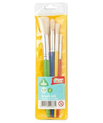 Set of 4 Paint Brushes