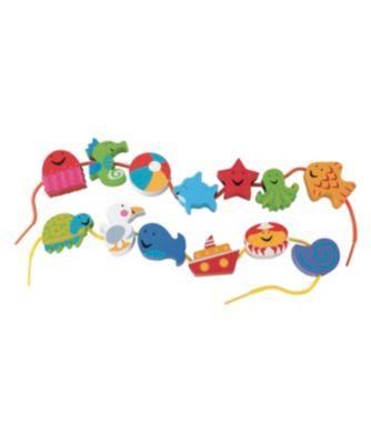 Seashore Threading Fun Toy From 2 years