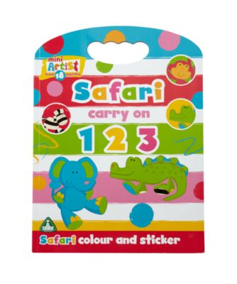 Mini Artist 123 Colour And Sticker Activity Book