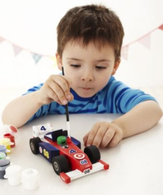 Make Your Own Wooden Racing Car