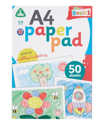 A4 White Paper Pad - 50 Sheets