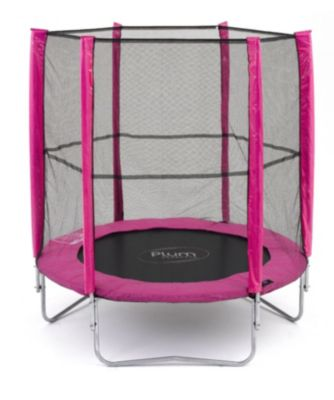 Plum 6ft Trampoline and Enclosure - Pink