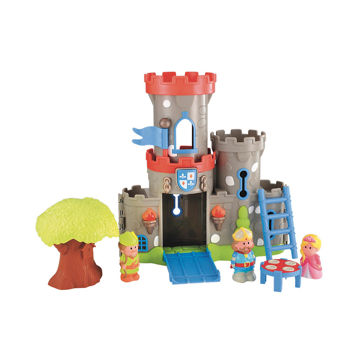 New HappyLand Boys and Girls Sherwood Castle Playset Toy From 18 months