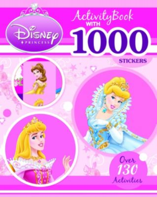 Disney Princess 1000 Stickers Activity Book