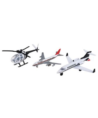 Big City Plane and Helicopter Set