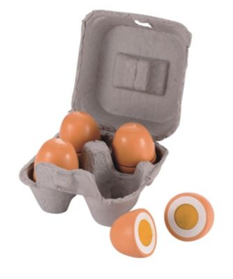 Box of Wooden Eggs