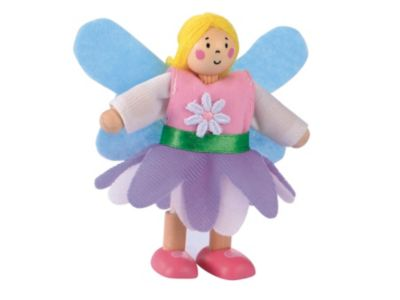 Rosebud Wooden Village Fairy