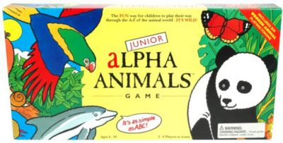 BrainBox Junior Alpha Animals Game