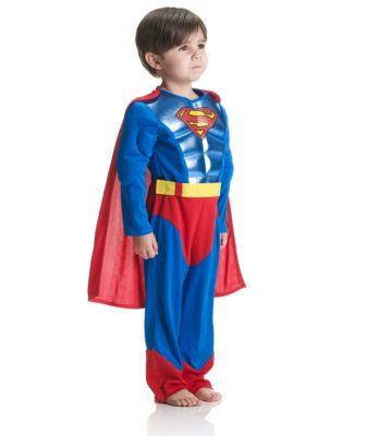 Metallic Superman Costume 5-6 years