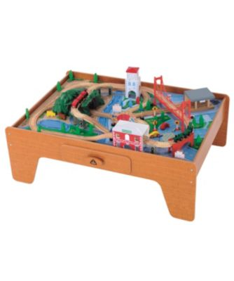 Big City Wooden Rail Train Table