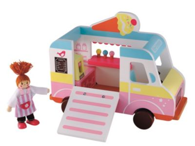 Rosebud Wooden Village Ice Cream Van