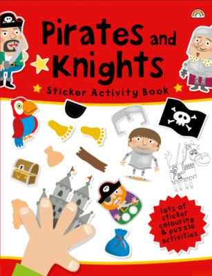 Pirates and Knights Sticker Activity Book