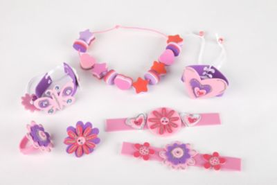 Make Your Own Foam Jewellery