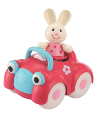 Toybox Rosie Rabbit and her Motor Car