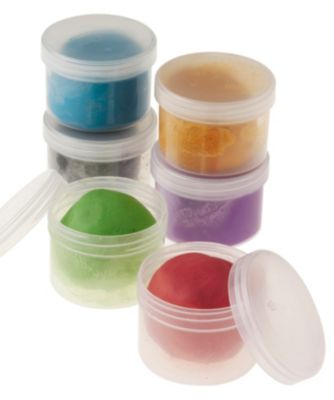 Coloured Air Drying Clay - 6 Tubs