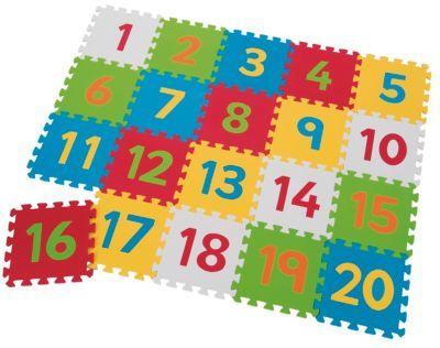 Foam Number Playmats