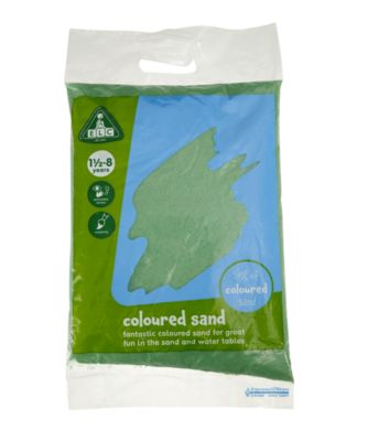 Green Coloured Play Sand - 5kg Bag