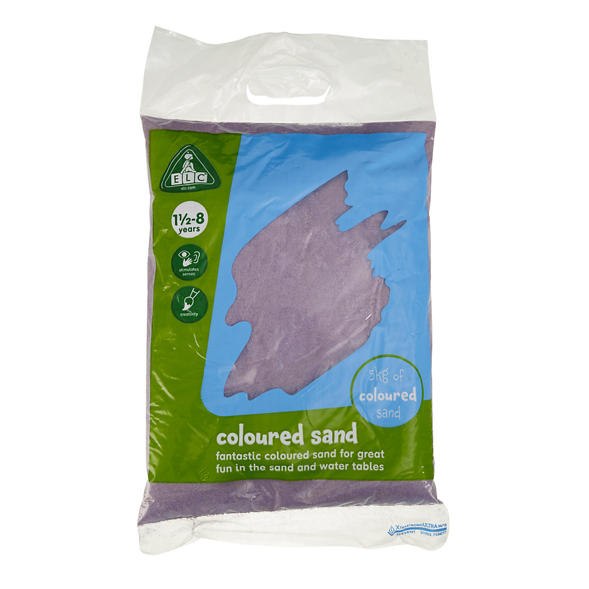 Purple Coloured Play Sand   5kg Bag Toy From 18 Months