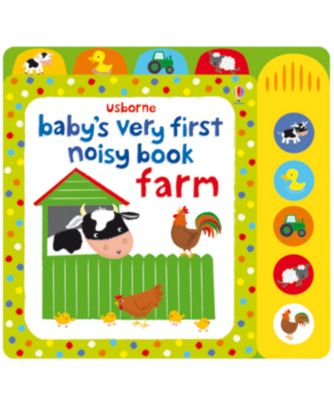 Baby's Very First Noisy Farm Sound Book