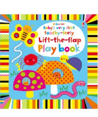 Usborne Baby's Very First Touch And Feel Lift the Flap Play Book
