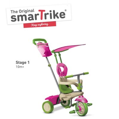 Smart Trike Vanilla 4-in-1 Tricycle - Pink