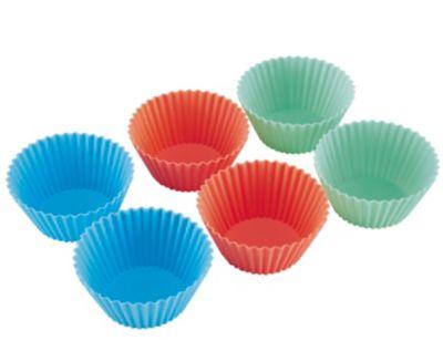 6 Reusable Cupcake Cases