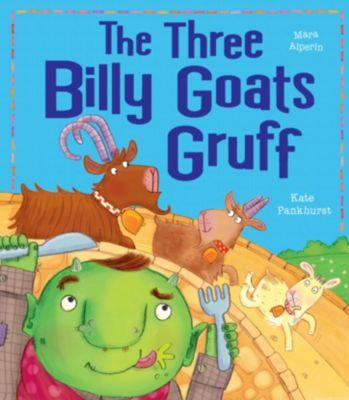 Three Billy Goats Gruff Story Book