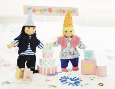 ELC Rosebud Birthday Party Set