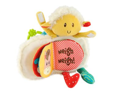 Blossom Farm Woolly Lamb Soft Book