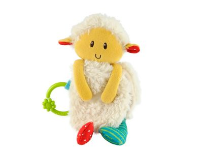 Blossom Farm Woolly Lamb Soft Book