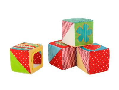 ELC Blossom Farm Touch and Feel Cubes