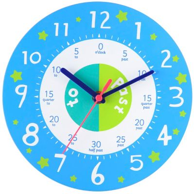 ELC Teaching Clock - Blue