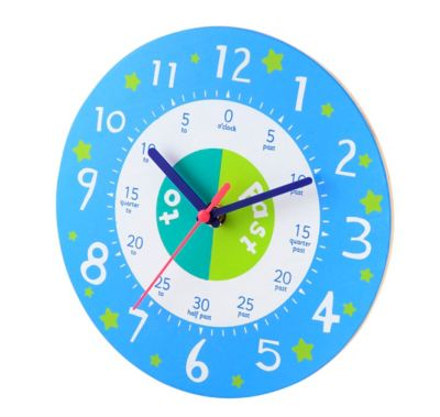 ELC Teaching Clock - Blue