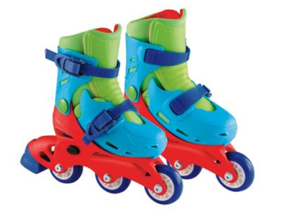 Blue 2-in-1 Skates