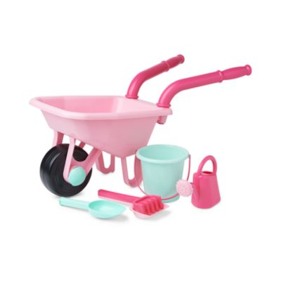 ELC Pink Wheelbarrow Set