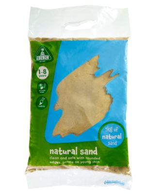 Natural Play Sand – 5kg Bag