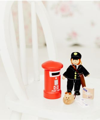 Rosebud Village Postman Set