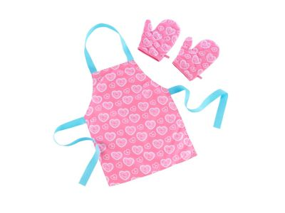 Apron and Glove Set - Pink
