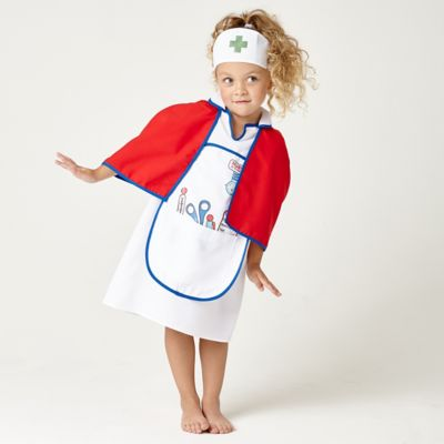 Nurses Dress Up Outfit with Cape